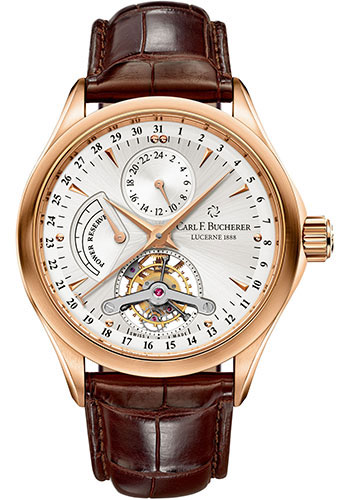 Carl F. Bucherer Watches - Manero Tourbillon Rose Gold - Style No: 00.10918.03.13.01