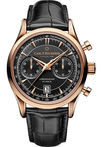 Carl F. Bucherer Watches - Manero Flyback Rose Gold - Style No: 00.10919.03.33.01