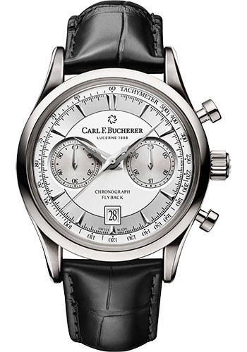 Carl F. Bucherer Watches - Manero Flyback Stainless Steel - Style No: 00.10919.08.13.01