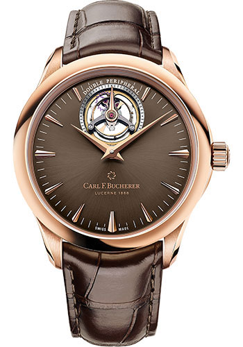 Carl F. Bucherer Watches - Manero Tourbillon Double Peripheral Rose Gold - Style No: 00.10920.03.93.01