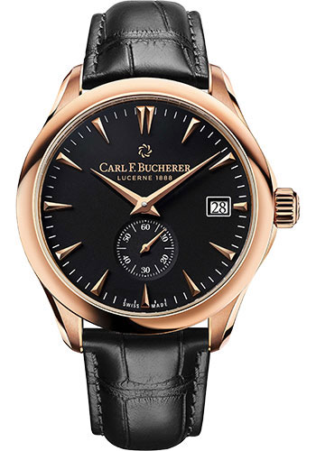 Carl F. Bucherer Watches - Manero Peripheral 43mm Rose Gold - Style No: 00.10921.03.33.01