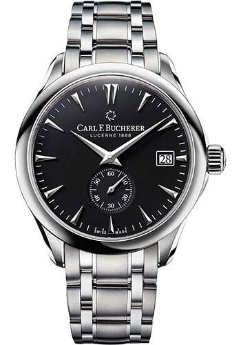 Carl F. Bucherer Watches - Manero Peripheral 43mm Stainless Steel - Style No: 00.10921.08.33.21