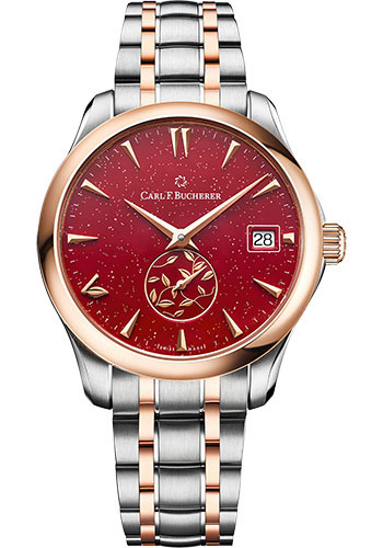 Carl F. Bucherer Watches - Manero AutoDate LOVE Rose Gold - Style No: 00.10922.07.93.21