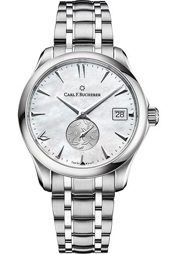 Carl F. Bucherer Watches - Manero AutoDate LOVE Stainless Steel - Style No: 00.10922.08.73.21