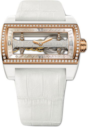 Corum Watches - Ti-Bridge Lady - Style No: 007.129.51/0009 0000