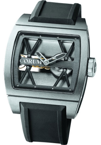 Corum Watches - Ti-Bridge 41.5 x 42.5 mm - Titanium - Style No: B007/00830 - 007.400.06/F371 0000