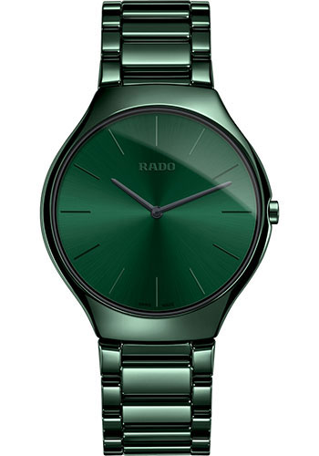 Rado Watches - True Thinline Colors - Quartz - Large - Style No: 01.140.0264.3.031