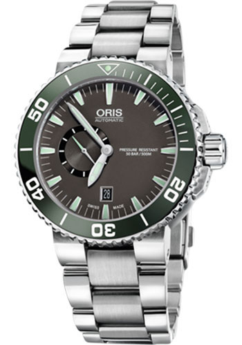 Oris Watches - Aquis Small Second Date - Style No: 01 743 7673 4137-07 8 26 01PEB