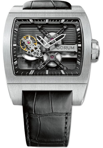 Corum Watches - Ti-Bridge Tourbillon - Titanium - Style No: 022.710.04/0F01 0000