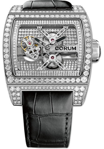 Corum Watches - Ti-Bridge Tourbillon - White Gold - Style No: 022.715.69/0F01 0000