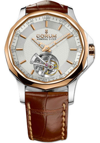 corum admiral 39 s cup legend 42 tourbillon micro rotor watches