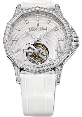 Corum Watches - Admiral's Cup Legend 38 Tourbillon Fiancee - Style No: 029.102.47/0F09 PN11