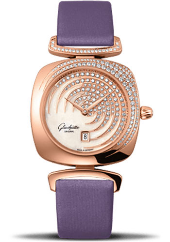Glashutte Original Watches - Ladies Collection Pavonina Red Gold - White - Style No: 03-01-03-15-01