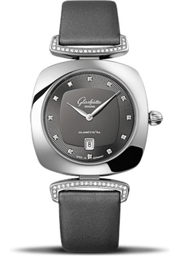 Glashutte Original Watches - Ladies Collection Pavonina Steel - Grey - Style No: 03-01-06-12-02