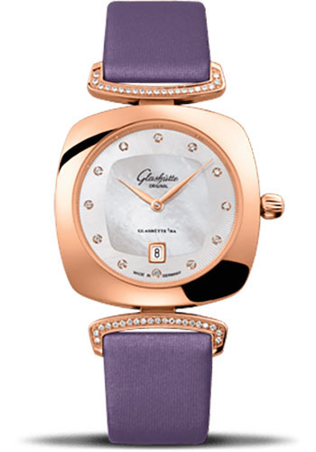 Glashutte Original Watches - Ladies Collection Pavonina Red Gold - Mother of Pearl - Style No: 03-01-08-05-02