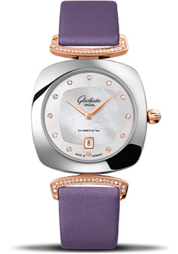 Glashutte Original Watches - Ladies Collection Pavonina Steel and Gold - Mother of Pearl - Style No: 03-01-08-06-02