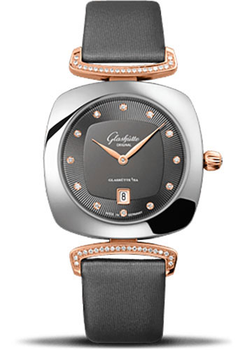 Glashutte Original Watches - Ladies Collection Pavonina Steel and Gold - Grey - Style No: 03-01-25-06-02