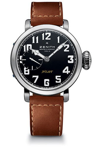 Zenith Watches - Pilot Montre D'Aeronef Type 20 Automatic - Style No: 03.1930.681/21.C723