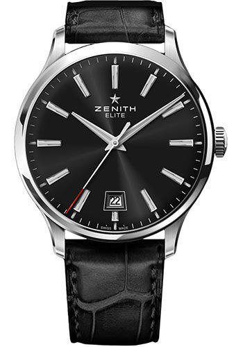 Zenith Watches - Captain Central Second Stainless Steel - Style No: 03.2020.670/21.C493