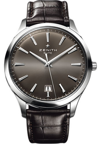 Zenith Watches - Captain Central Second Stainless Steel - Style No: 03.2020.670/22.C498