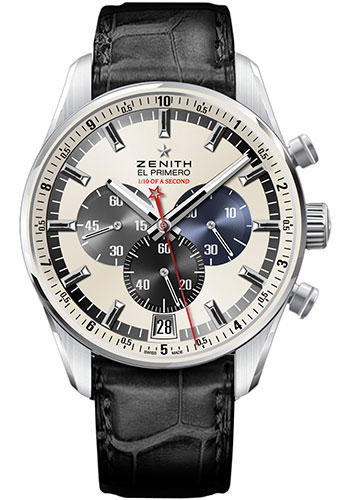 Zenith Watches - El Primero Striking 10th Stainless Steel - Style No: 03.2041.4052/69.C496