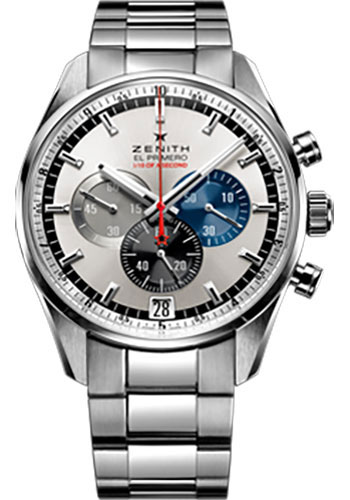 Zenith Watches - El Primero Striking 10th Stainless Steel - Style No: 03.2041.4052/69.M2040