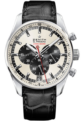 Zenith Watches - El Primero Striking 10th Stainless Steel - Style No: 03.2043.4052/01.C496