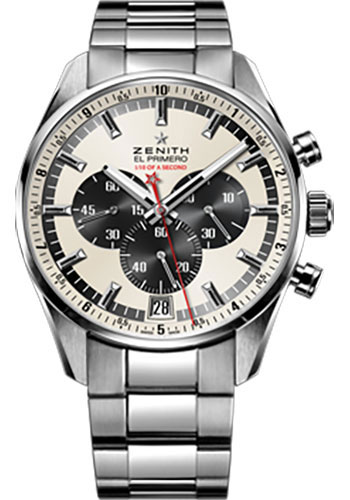 Zenith Watches - El Primero Striking 10th Stainless Steel - Style No: 03.2043.4052/01.M2040