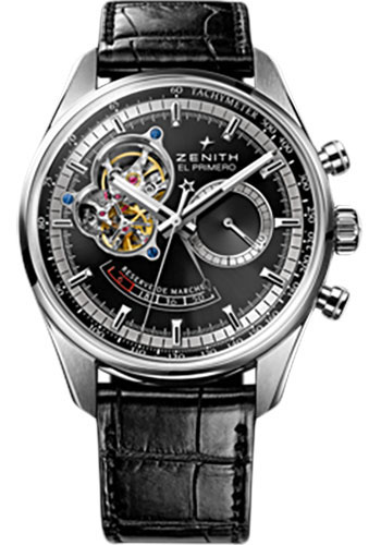 Zenith Watches - El Primero Chronomaster Power Reserve Stainless Steel - Style No: 03.2080.4021/21.C496
