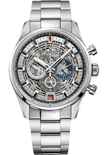 Zenith Watches - Chronomaster El Primero Full Open Steel - Bracelet - Style No: 03.2081.400/78.M2040