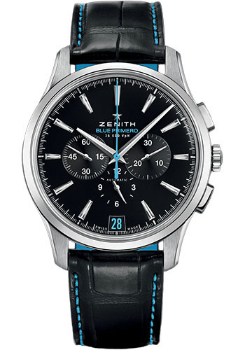 Zenith Watches - Captain Chronograph Stainless Steel - Style No: 03.2119.400/22.C720