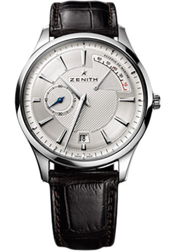 Zenith Watches - Captain Power Reserve Stainless Steel - Style No: 03.2120.685/02.C498