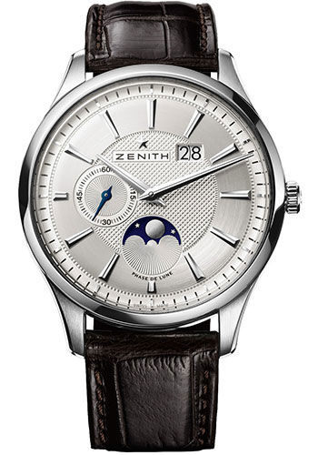 Zenith Watches - Captain Moonphase Stainless Steel - Style No: 03.2140.691/02.C498