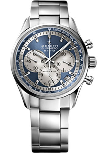 Zenith Watches - El Primero Lady 36'000 VPH - 38mm Stainless Steel - Style No: 03.2150.400/51.M2150