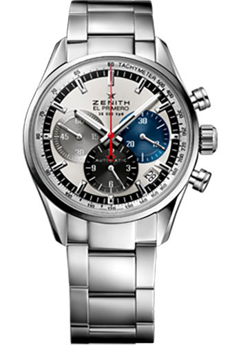 Zenith Watches - El Primero 36'000 VPH - 38mm Stainless Steel - Style No: 03.2150.400/69.M2150