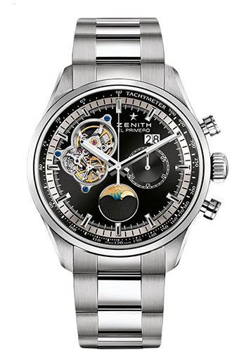 Zenith Watches - El Primero Chronomaster Grande Date Stainless Steel - Style No: 03.2160.4047/21.M2160