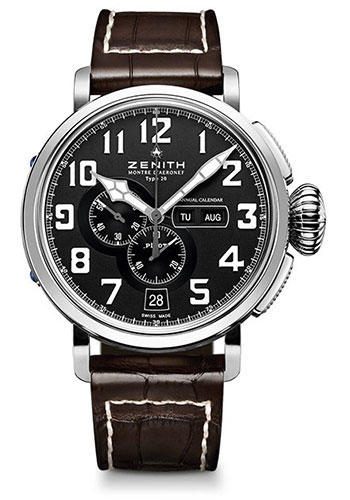 Zenith Watches - Pilot Montre D'Aeronef Type 20 Annual Calendar - Style No: 03.2430.4054/21.C721