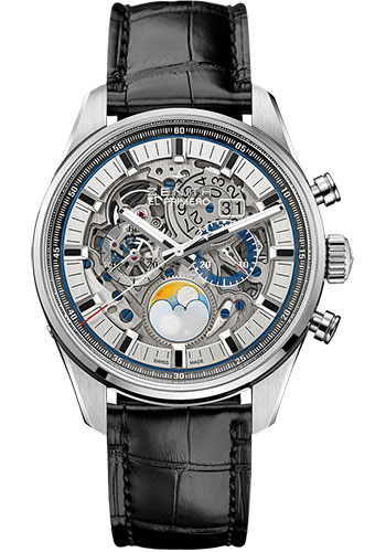 Zenith Watches - Chronomaster El Primero Grande Date Full Open Steel - Style No: 03.2530.4047/78.C813