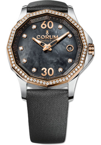 Corum Watches - Admiral Legend 38 mm - Steel and Rose Gold - Style No: A082/01308 - 082.101.29/0F41 PN10