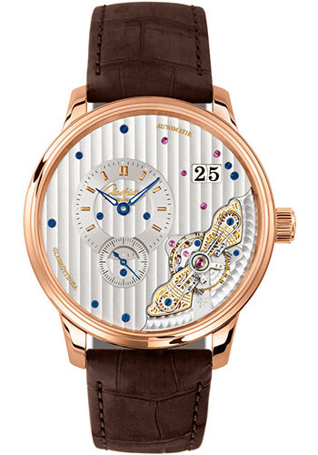 Glashutte Original Watches - Art and Technik PanoMaticInverse - Style No: 1-91-02-01-05-30
