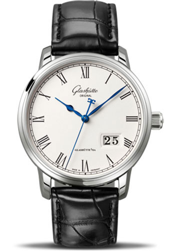 Glashutte Original Watches - Quintessentials Senator Panorama Date - Style No: 100-03-32-42-04