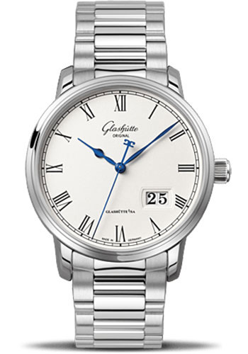 Glashutte Original Watches - Quintessentials Senator Panorama Date - Style No: 100-03-32-42-14