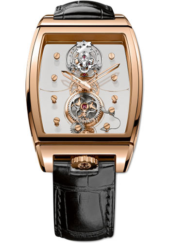 Corum Watches - Golden Bridge Tourbillon Panoramique 37.50 x 56.00 mm - Red Gold - Style No: B100/01146 - 100.160.55/0F01 0000
