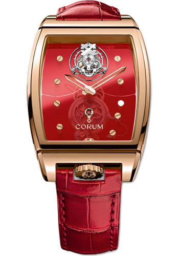 Corum Watches - Golden Bridge Tourbillon Panoramique Red Gold - Style No: 100.160.55/0F06 0000R