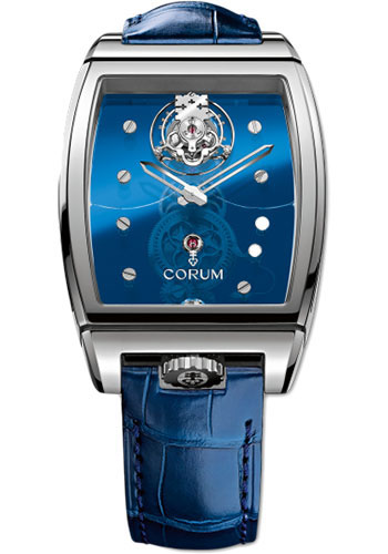 Corum Watches - Golden Bridge Tourbillon Panoramique White Gold - Style No: 100.160.59/0F03 0000B