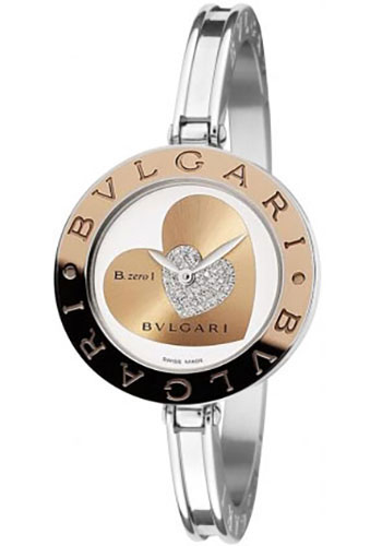 Bulgari Watches - B.zero1 30 mm - Steel and Gold - Style No: 101423 BZ30WHDSGL
