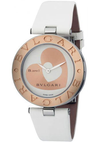 Bulgari Watches - B.zero1 35 mm - Steel and Gold - Style No: 101432 BZ35WHSGL
