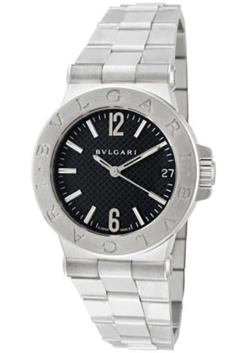 Bulgari Watches - Diagono 29 mm - Stainless Steel - Style No: 101606 DG29BSSD
