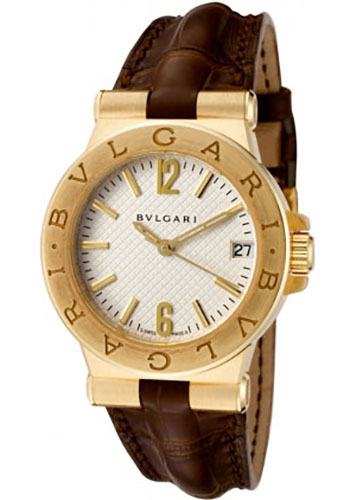 Bulgari Watches - Diagono 29 mm - Yellow Gold - Style No: 101609 DG29C6GLD