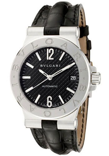 Bulgari Watches - Diagono 35 mm - Stainless Steel - Style No: 101613 DG35BSLD